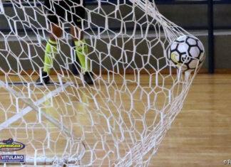 pallone futsal porta